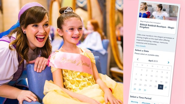 Online Reservations Available for Bibbidi Bobbidi Boutique and More