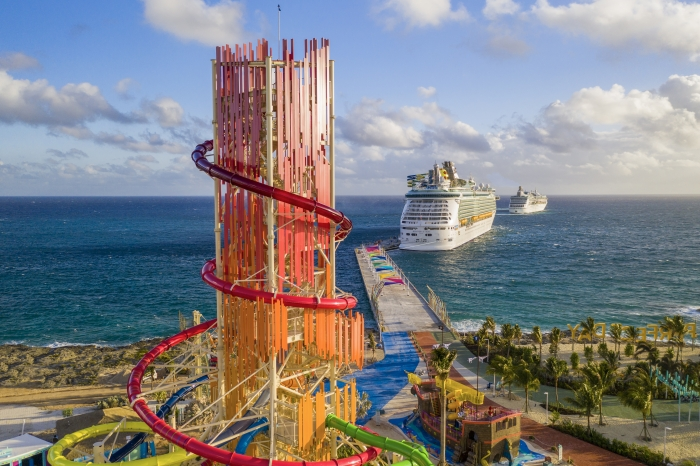 Royal Caribbean Cruise Line's New Private Island Now Open