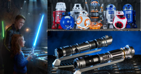 Build Your Own Lightsaber, Droids And More At Star Wars: Galaxy's Edge