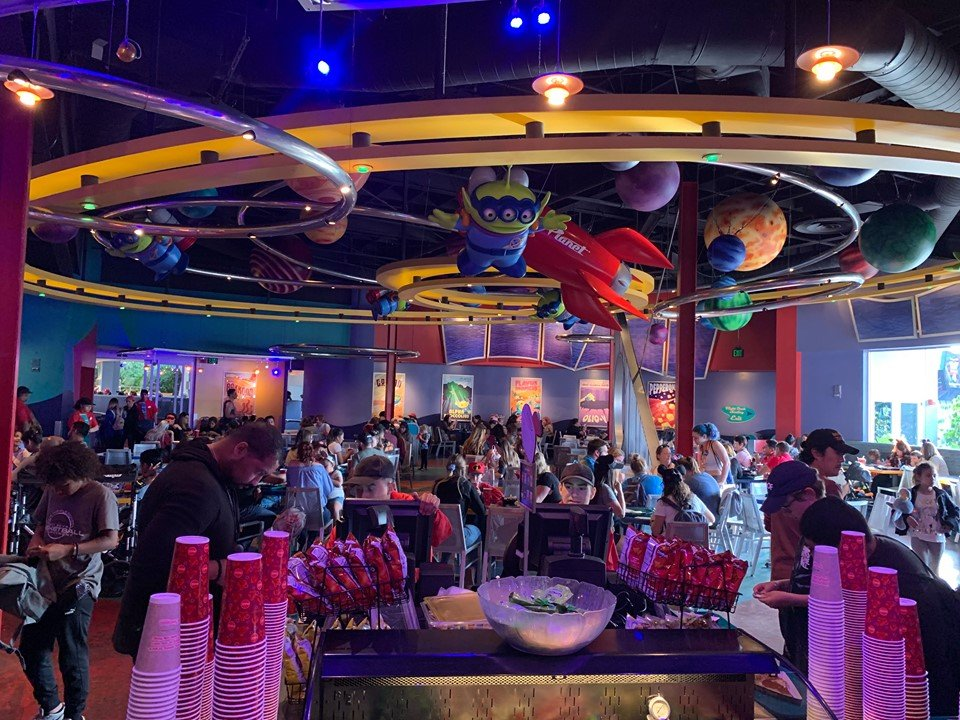 Alien Pizza Planet Restaurant Renovation is Complete at Disneyland!