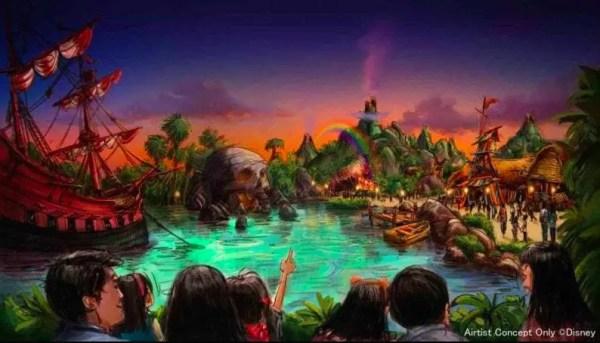 Disney TokyoSea's Fantasy Springs Attraction Update! 4