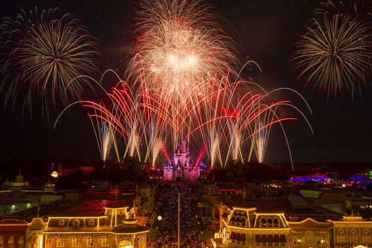 Walt Disney World Celebrates Independence Day 4th with special 4th of July Celebrations
