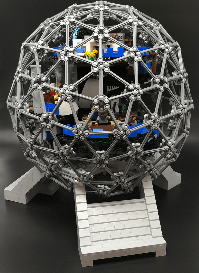 LEGO Ideas - Spaceship Earth Lego Project Proposal 2