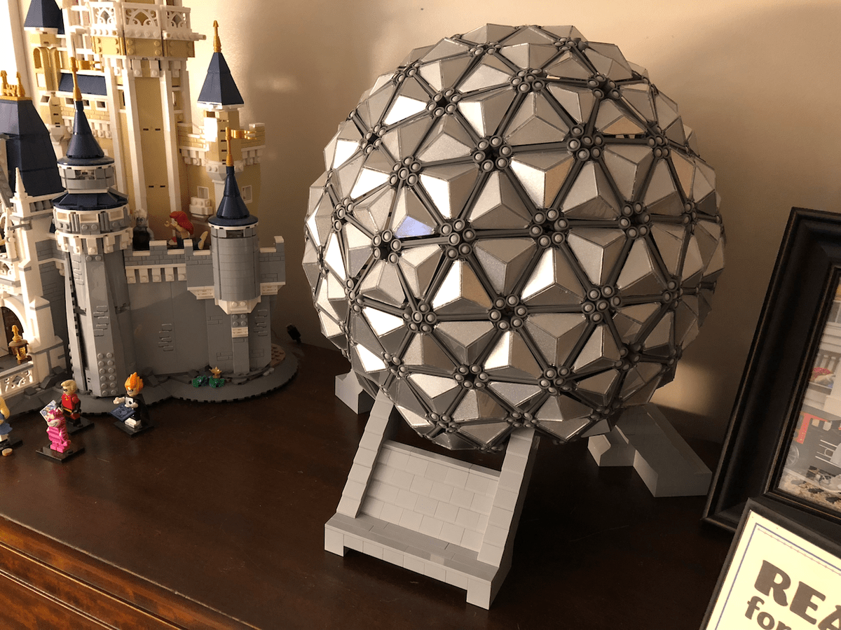 LEGO Ideas - Spaceship Earth Lego Project Proposal 1