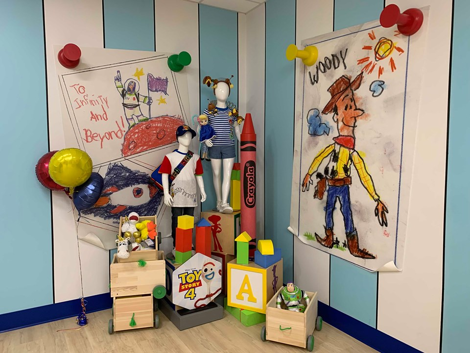 Toy Story Pop Up Shop at Hollywood Studios!