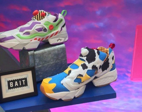 New Bait x Reebok Toy Story Shoes Coming This Fall 1
