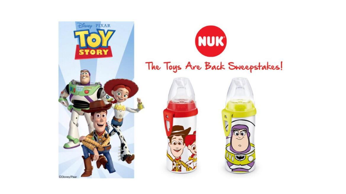 NUK's The Toys Are Back Sweepstakes