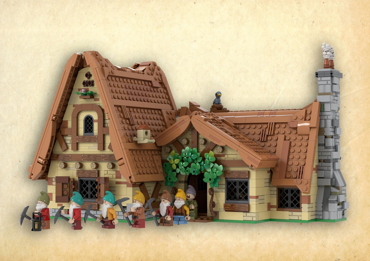 LEGO IDEAS: The Seven Dwarfs House LEGO Project 1