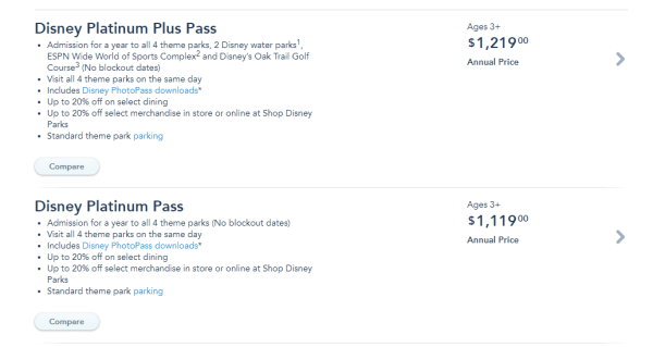 Disney World Annual Pass Price Increased Effective Immediately 2