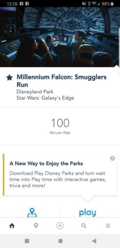 Star Wars Galaxy's Edge reservations are no longer needed 4