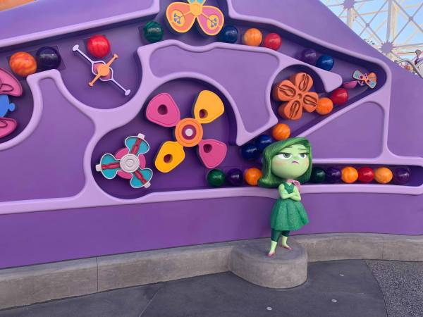 Inside Out Emotional Whirlwind Attraction Opens at Disneyland! 3