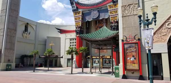 Construction Walls Up Around the Chinese Theatre! 1