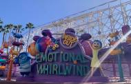 Inside Out Emotional Whirlwind Attraction Opens at Disneyland!