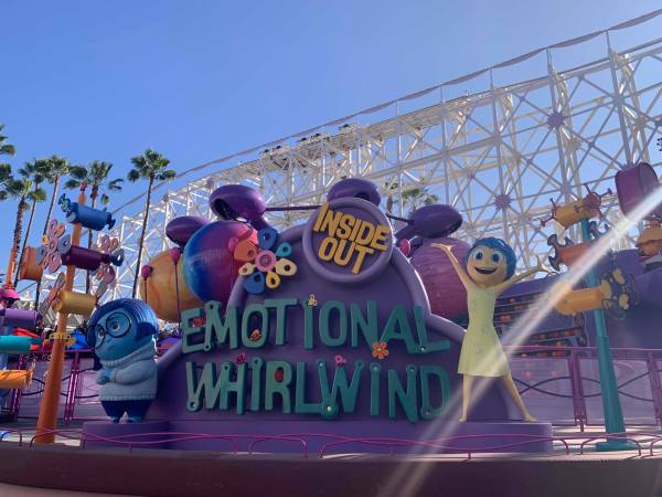 Inside Out Emotional Whirlwind Attraction Opens at Disneyland! 1