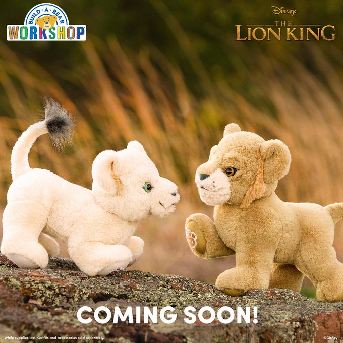 Join The Pride With The Lion King Build-A-Bear Collection 2