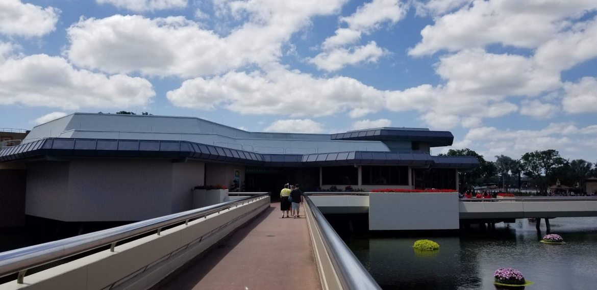 Odyssey Pavilion and Bathrooms Unavailable as New Experience Center Work Begins