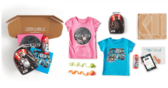 KIDBOX Launches Disney, Star Wars and Marvel Themed Style Boxes 1