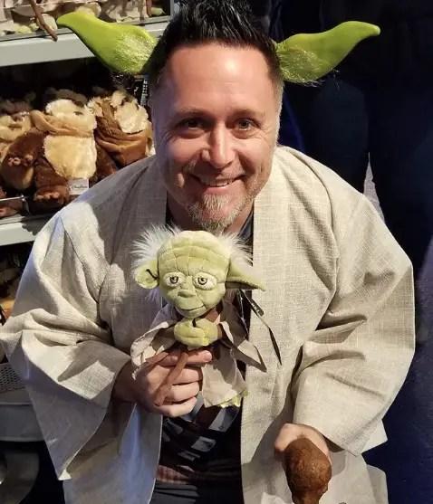 Light Up Star Wars Yoda Inspired Disney Mickey Minnie Mouse Ears for Star Wars Land Galaxy/'s Edge Ears