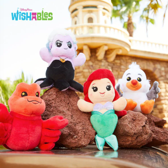 The Little Mermaid Wishables Collection Has Splashed In 2