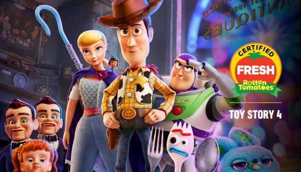 Toy Story 4 Gets a 100% Rating on Rotten Tomatoes 1