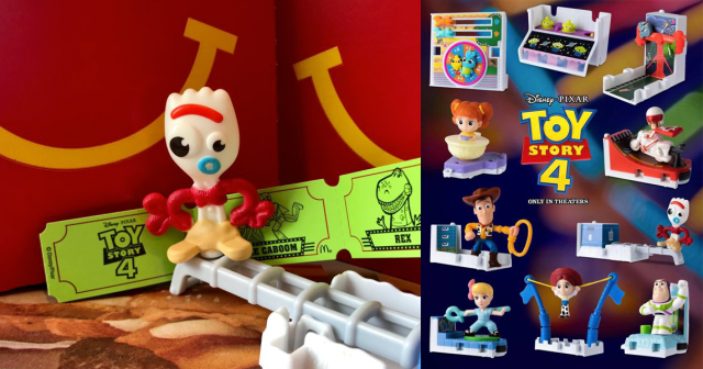 Toy Story Happy Meal Toys
