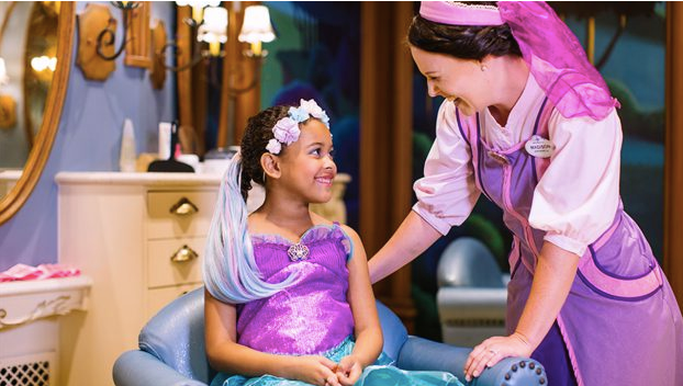 Bibbidi Bobbidi Boutique at Disney's Grand Floridian Resort & Spa Open For Reservations!