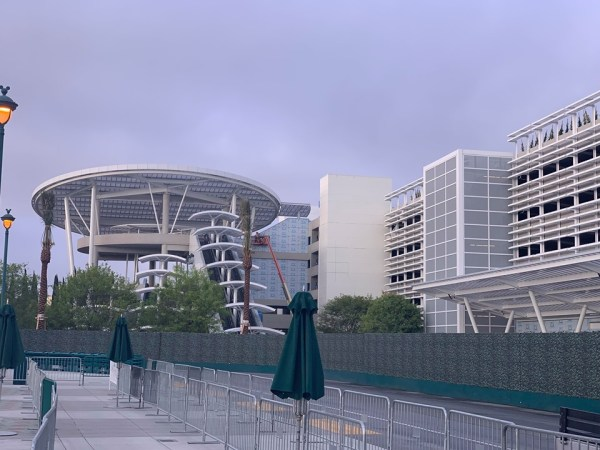Pixar Pals Disneyland Resort Parking Structure Almost Complete.