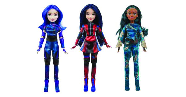 Disney Descendants 3 Doll Collection from Hasbro