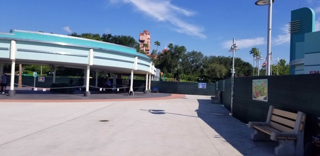Hollywood Studios Entrance Construction Update