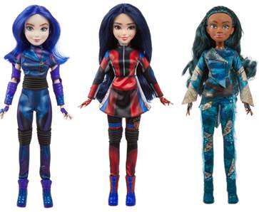Disney Descendants 3 Doll Collection from Hasbro 2