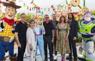 Toy Story 4 Cast take a trip to Toy Story Land in Hollywood Studios