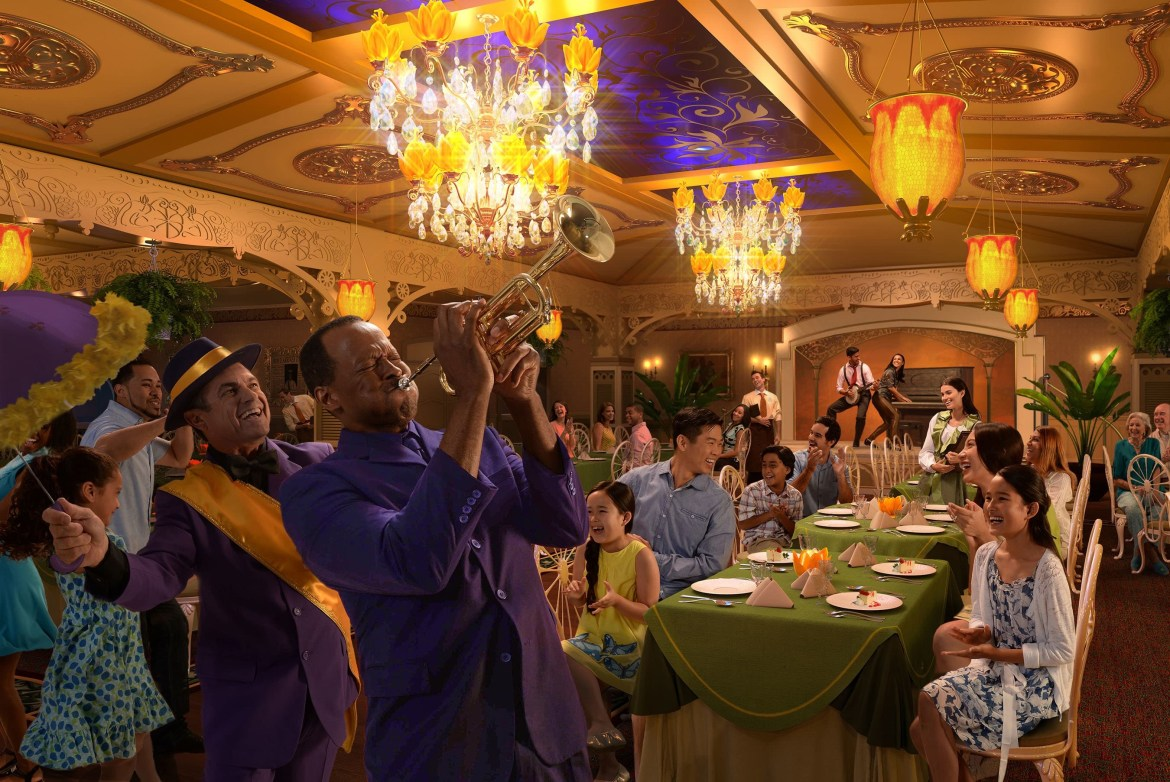 New Orleans and Princess Tiana Starring in New Enhancements Coming to the Disney Wonder!