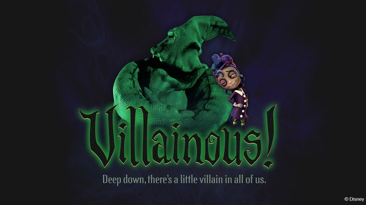 """""""Villainous!"""" An All New """"World of Color"""" Show is Coming to Oogie Boogie Bash"""