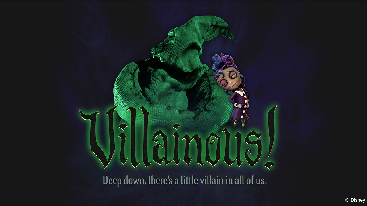 """""""Villainous!"""" An All New """"World of Color"""" Show is Coming to Oogie Boogie Bash 1"""