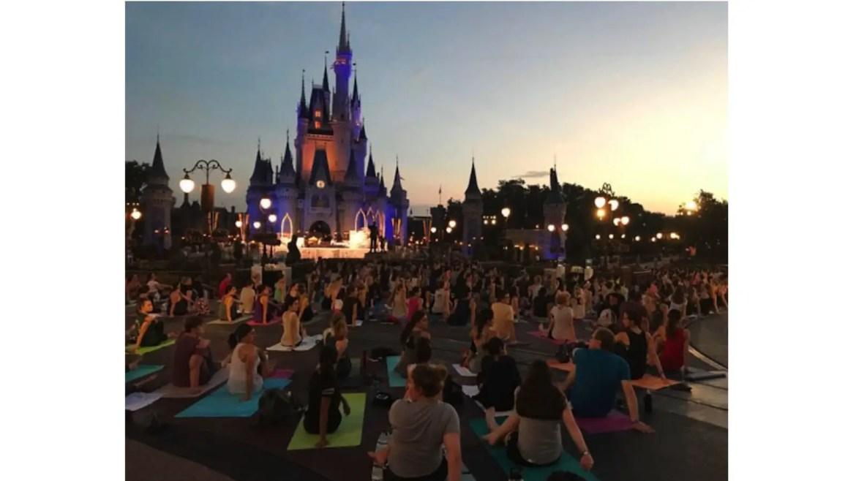 Disney Will Stream Sunrise Yoga at Walt Disney World Resort for International Yoga Day