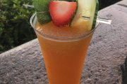 Frozen Pimm's Lemonade in Epcot's UK Pavilion