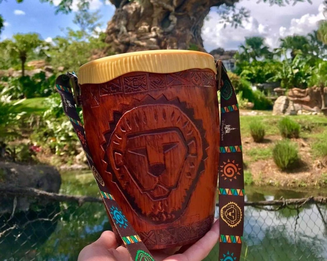 New Lion King Popcorn Bucket at Disney's Animal Kingdom