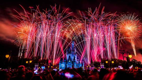 Watch the Fourth of July Fireworks LIVE at the Magic Kingdom