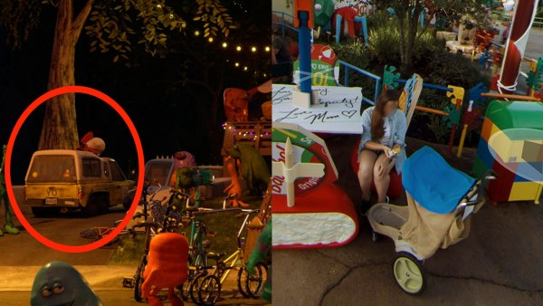 Toy Story Land Easter Eggs on Google Street View