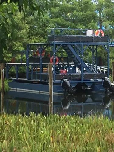 Disney Skyliner Rescue boat Spotted at Walt Disney World