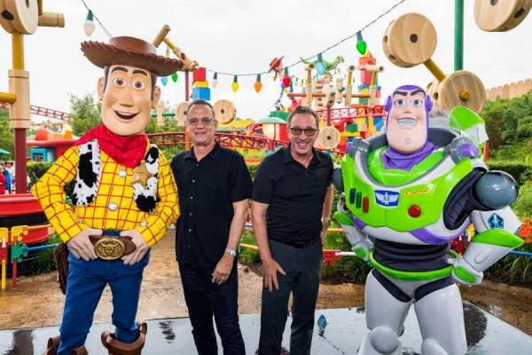 Toy Story Land first anniversary