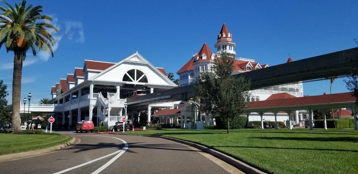 Walkway between Disney's Grand Floridian and the Magic Kingdom in the works