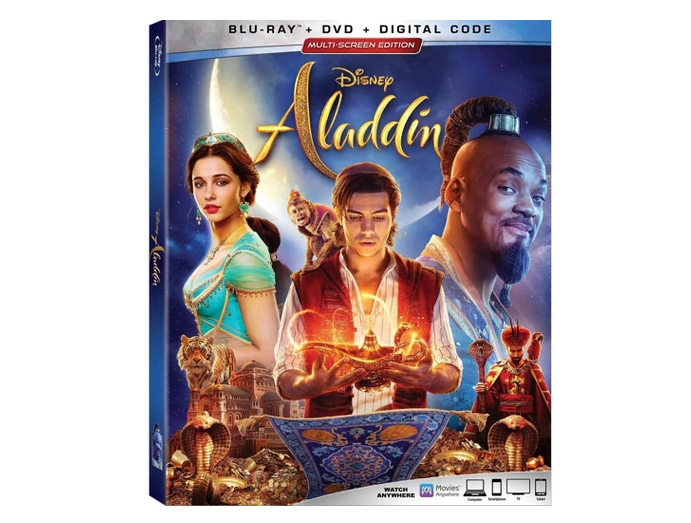 Experience the Original and Live Action Disney's Aladdin on Digital