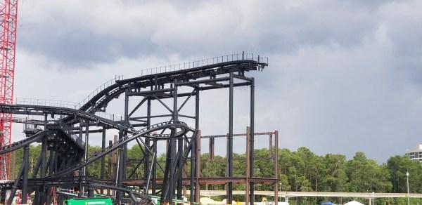 Tron Coaster at Magic Kingdom is Coming Along 2
