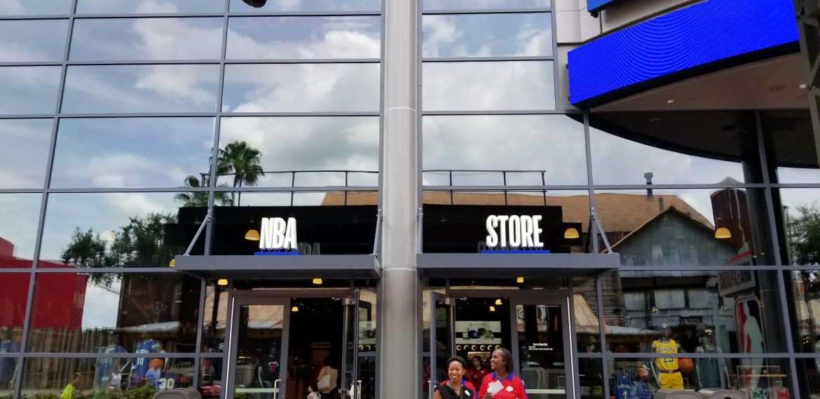 The NBA Experience Store Now Open in Disney Springs