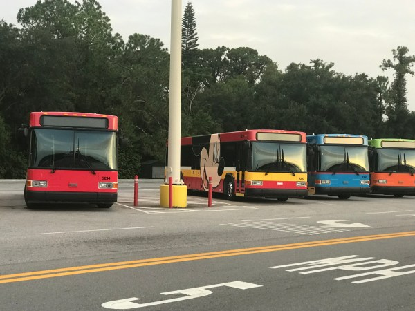 Up Close Look At The Brand New Disney Character Buses 4