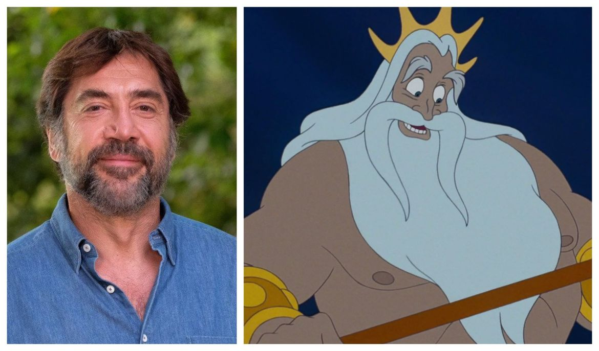 "Javier Bardem Up for Role of King Triton in ""The Little Mermaid"""