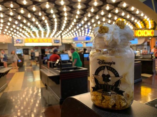 Popcorn Caramel Sundae
