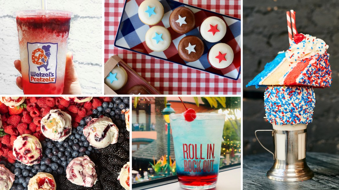 Star Spangled Treats at Disney Parks