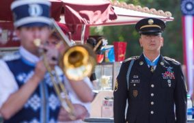 David Bellavia Medal of Honor Recipient Receives Honors at Disneyland